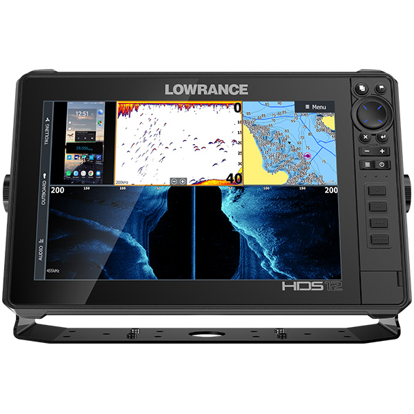 LOWRANCE HDS LIVE 12 ROW Active Imaging 3-IN-1