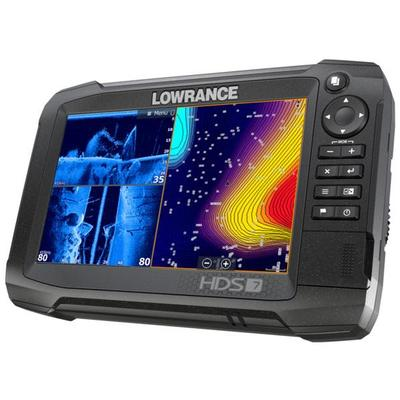 Lowrance Hds 7 Carbon Combo Gps Ecoscandaglio 2018 Row 000-13678-001 #62120190