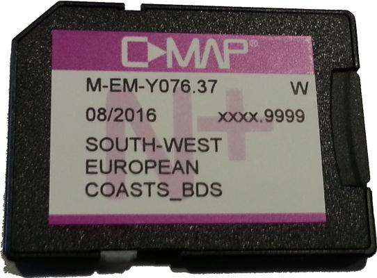 C-Map MAX-N WIDE North West European coasts