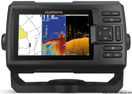 Echo Striker Plus 5cv Garmin