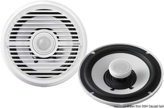 Casse stereo Clarion bianche 100W