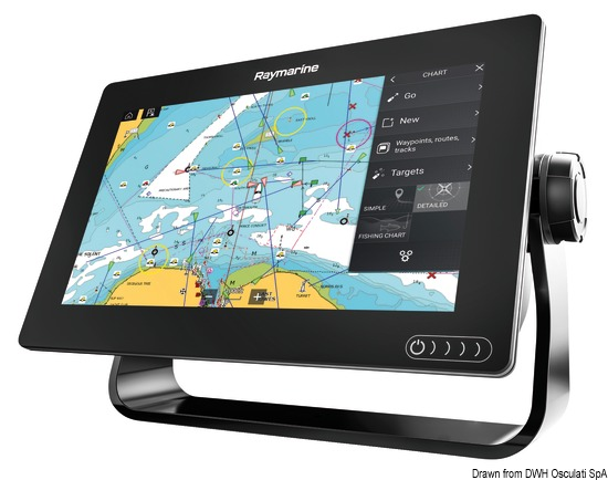 Display multifunzione touchscreen Axiom 9DV