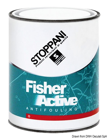 Antivegetativa Fisher Paint nera 0,75 l