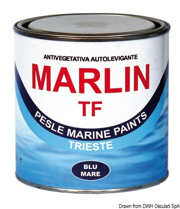 Antivegetativa Marlin TF rossa 0,75 l