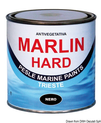 Antivegetativa Marlin Hard nera 0,75 l