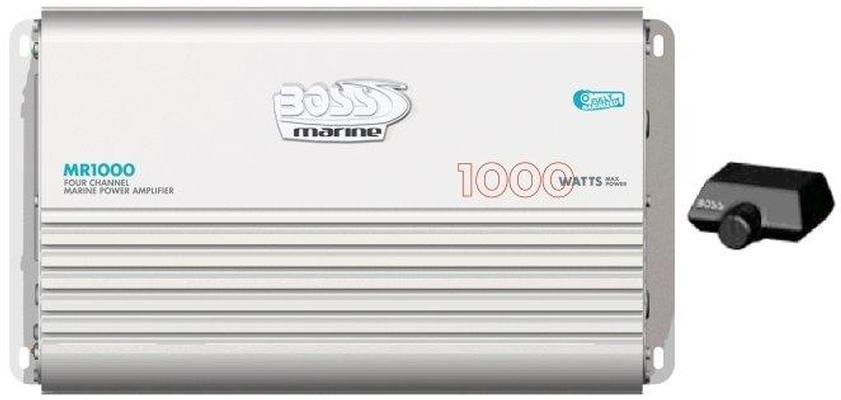 Boss Marine MR1000, Amplificatore 250W x 4