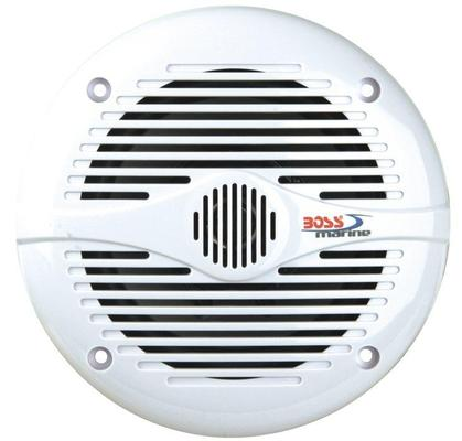 Boss Marine MR60W Coppia Speaker 200W, Bianchi