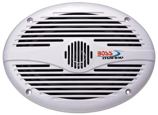 Boss Marine MR690 Coppia Speaker 350W, Bianchi