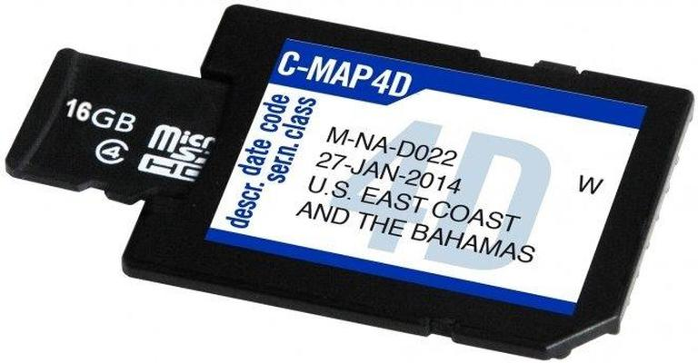 "C-Map SD Card 16 GB ""Blank"" per 4D"