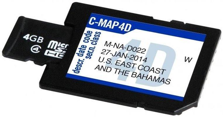 "C-Map SD Card 4 GB ""Blank"" per 4D"