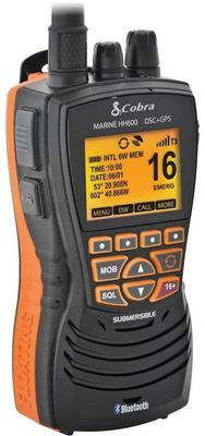 Cobra Marine MR HH600 GPS BT EU, VHF/DSC - Bianco