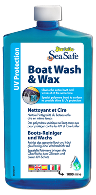 STAR BRITE BOAT WASH AND WAX SHAMPOO  1 LT