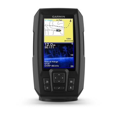 GARMIN STRIKER PLUS 4 CV ECO/GPS COMBINATO CLEAR - VU Con trasduttore GT20-TM