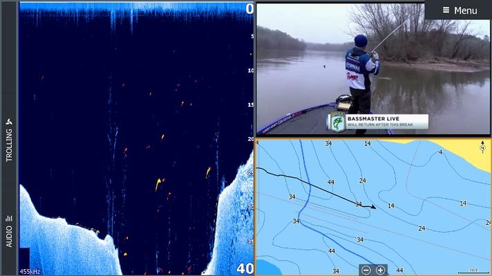 LOWRANCE HDS LIVE 12 ROW Active Imaging 3-IN-1 (5)